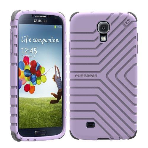 [日本正規代理店品] ピュアギア puregear GripTek - Lavender Samsung Galaxy S4 93839VRP ラベンダー