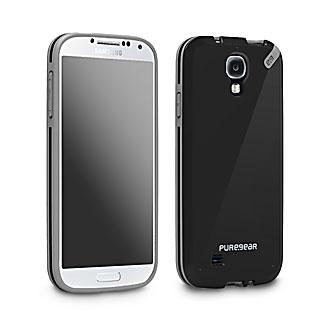 [日本正規代理店品] ピュアギア puregear Slim shell - Black Tea Samsung Galaxy S4 93830VRP クリア^-ブラック