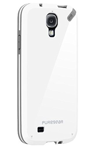 [日本正規代理店品] ピュアギア puregear Slim Shell - Vanilla Bean Samsung Galaxy S4 93831VRP ホワイト