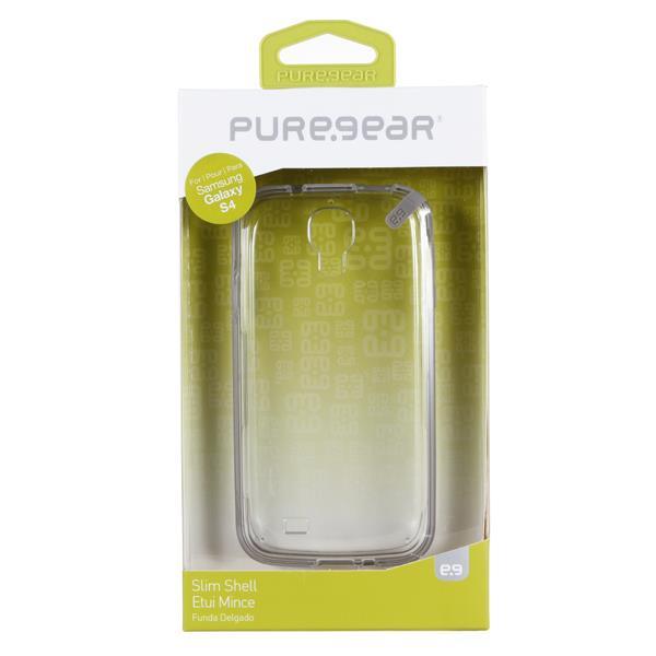 [日本正規代理店品] ピュアギア puregear Slim Shell - Coconut Jelly (Clear) Samsung Galaxy S4 93832VRP クリアー