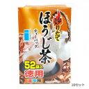 つぼ市製茶本舗 炒りたてほうじ茶 ティーバッグ 182g(3.5g×52p) 16セット