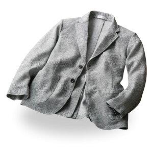 和紙のような軽さ 日本製 美濃和紙 ニット ジャケット SA-2000 春 夏 秋 mij エムアイジェイ