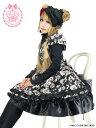 ショコラ薔薇姫のデコレーションバッスルワンピース 8R1006