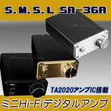 ミニHi-FiデジタルアンプS.M.S.LSA-36Aキャンペーン期間中につきACアダプターをプレゼント♪(3.8A、通常価格1580円)