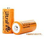 正規品 UltraFire 保護回路無し XSL18350 1200mAhリチウムイオン充電池