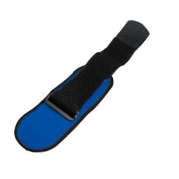リストバンドラップ トレーニング ウェイトリフティング ベルト サポーター 2個セット (ブルー/A00898)