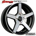 ■ STEALTH Racing SPEC-02 ■15x6.5J OFF+38 PCD100/4Hコン...