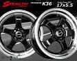 ■ New STEALTH Racing K36 ■軽四用新品ホイール+タイヤ4本SetHankook 165/40R17タイヤ付   ステラ/ラパン/ワゴンR/タント/ウェイク/ミライース/ムーブコンテ/ライフ/N-BOX/N-ONE/N-WGNなど