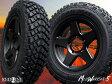 ■ MUD WARRIOR-5 ■ MW-5スズキジムニー専用モデルマッドテレン 185/85R16 タイヤ付4本セット