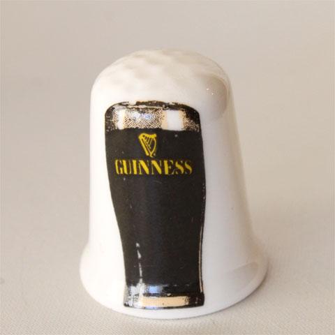 ギネス ビール Guinness Beer タンブラー ジョッキ ロゴマーク イギリス アドバタイジング ADVERTISING 広告 ポスター シンブル 指貫き ソーイング キルト パッチワーク コレクション アイテム 誕生日 ギフト プレゼント ヴィンテージ 02P09Jan16 03P23Jan16