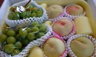 岡山の桃、ぶどう詰め合わせ【ご進物・贈答用フルーツ】