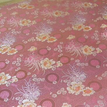 チャイナドレス用生地 12B ピンク