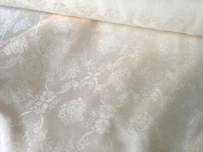 薔薇の織柄、ローズ地模様
