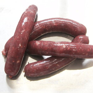 鹿肉ウインナー 1セット:80g(塩味つき)最高級品質 繊細な九州鹿  安心 健康 無添加 天然 国産 ジビエ 低脂肪 高タンパク ヘルシー