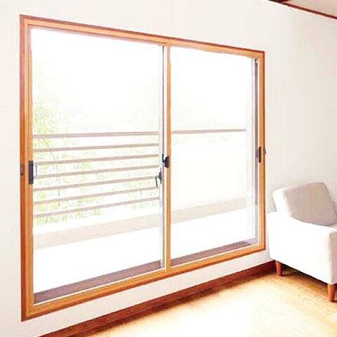 【GM-7サイズ】 セイキ軽量断熱内窓 楽窓[ラクマド]ガラス3mm透明4mm型ガラス4枚建タイプH〜1150mm、W〜3600m【断熱対策・送料無料】