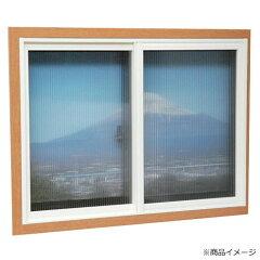 本格的二重窓が作れるレール枠キット誕生!簡易内窓用フレーム&レールキット 中窓用・ブラウン