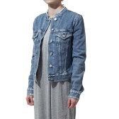 アクネ ACNE STUDIOS デニムジャケット TOP IND FRY INDIGO ブルー系 12g156 indigo fray レディース【あす楽対応_関東】【返品送料無料】【ラッピング無料】