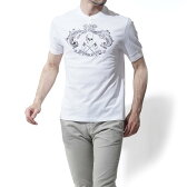 アレキサンダーマックイーン ALEXANDER McQUEEN ヘンリーネックTシャツ WHITE ホワイト系 453149 qizp7 0900 メンズ【あす楽対応_関東】【ラッピング無料】【返品送料無料】【17 03 03】