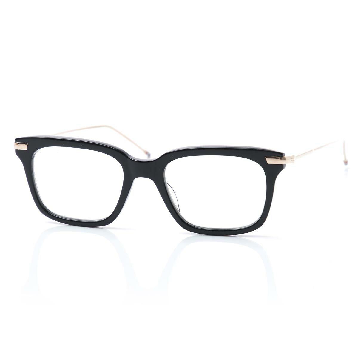眼鏡・サングラス, 眼鏡  THOM BROWNE. tb 701 a blk gld