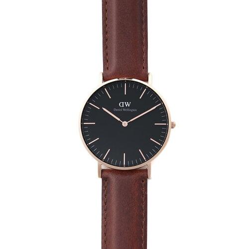 ダニエルウェリントン Daniel Wellington 腕時計 ブラウン レディース 時計 ウオッチ デイリーユー...
