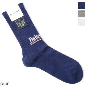 バレンシアガ BALENCIAGA 靴下 ソックス メンズ 507768 472b4 4374 POLITICAL TENNIS SOCKS【あす楽対応_関東】【返品交換不可】【ラッピング無料】
