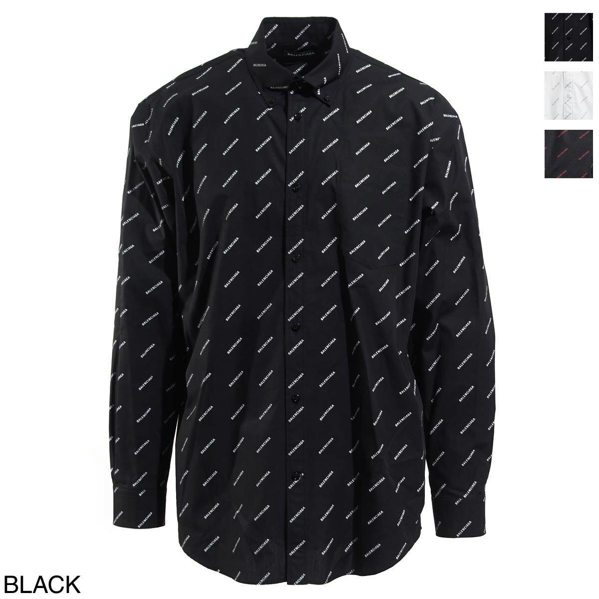 トップス, カジュアルシャツ  BALENCIAGA 534333 tbl96 1070 ALL OVER