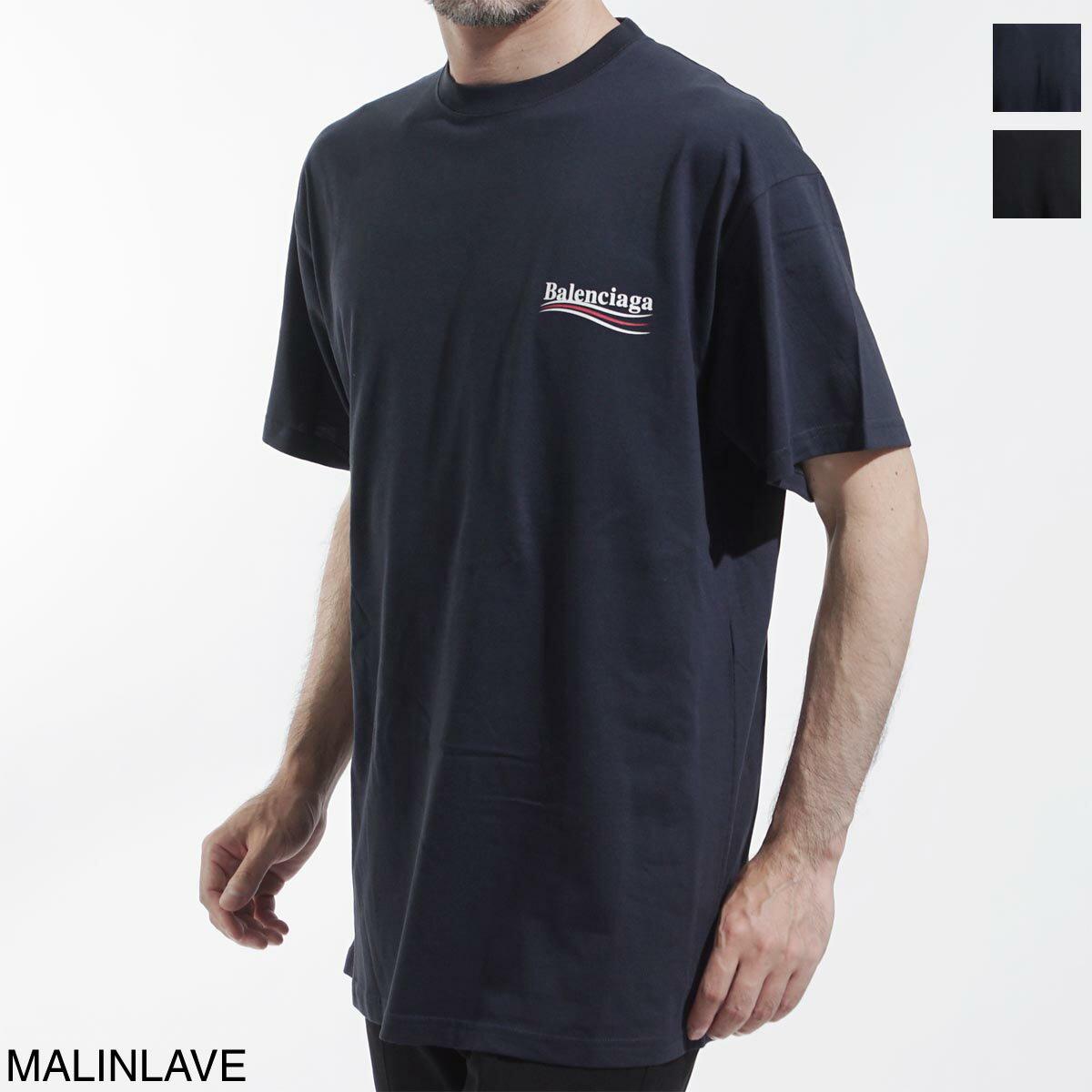 トップス, Tシャツ・カットソー  BALENCIAGA T 570803 tav44 4128 LOGO PRINTED T-SHIRT OVERSIZE FIT