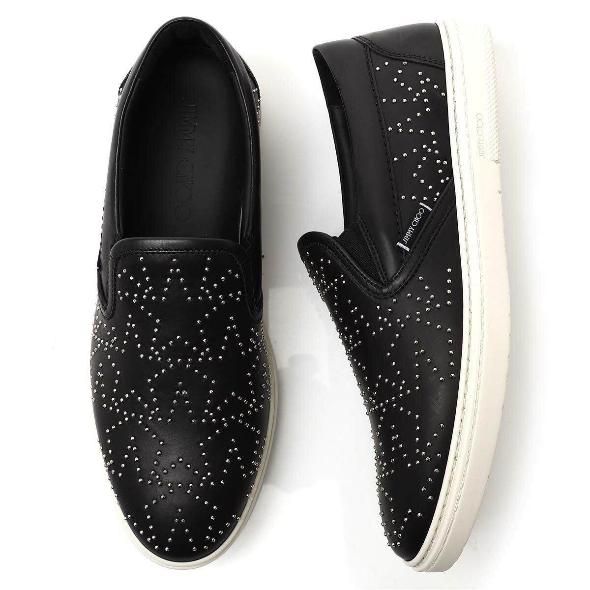 メンズ靴, スリッポン  JIMMY CHOO grove ddp black GROVE 190703