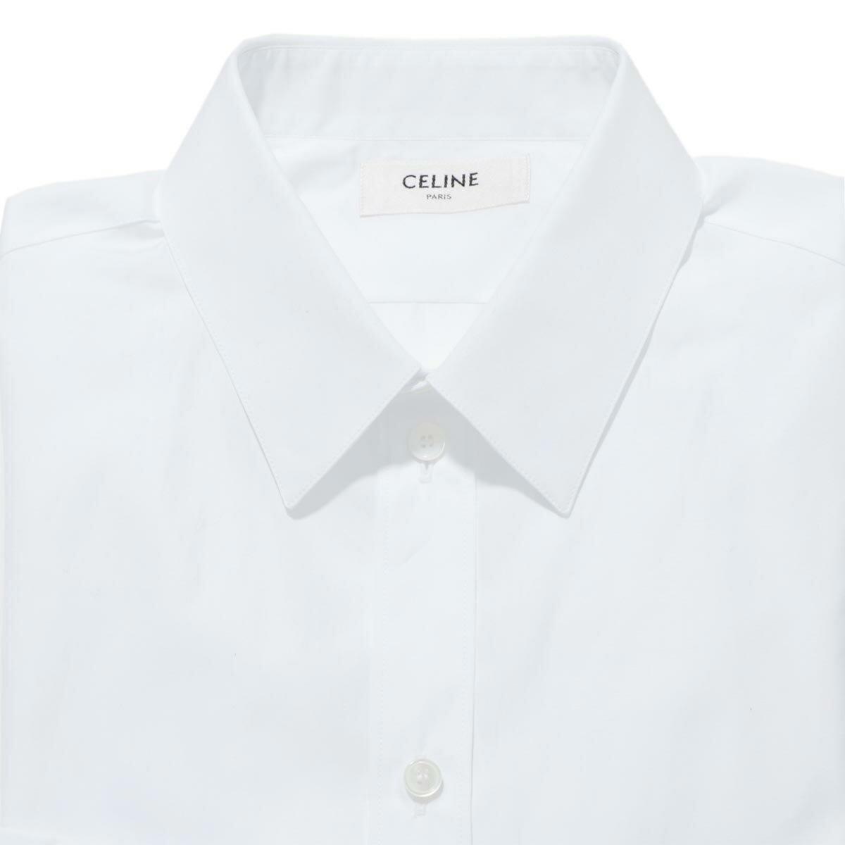 トップス, カジュアルシャツ  CELINE 2c154 091f 01bc CLASSIC SHIRT