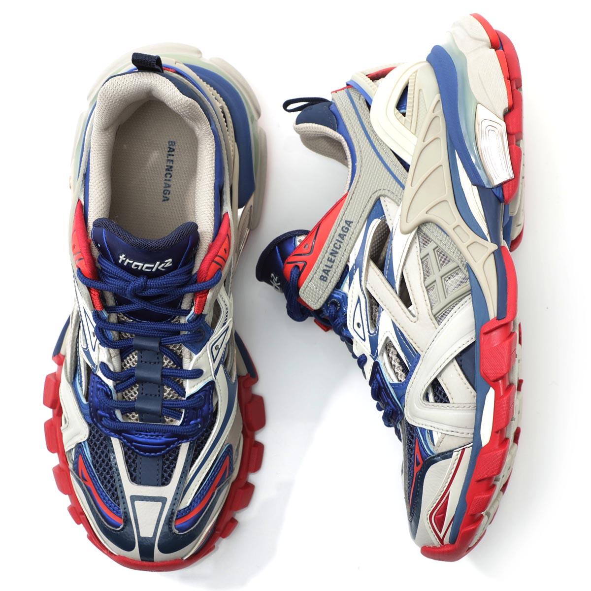 メンズ靴, スニーカー 1 BALENCIAGA 568614 w2gn2 8570 TRACK TRAINERS 2 2190930