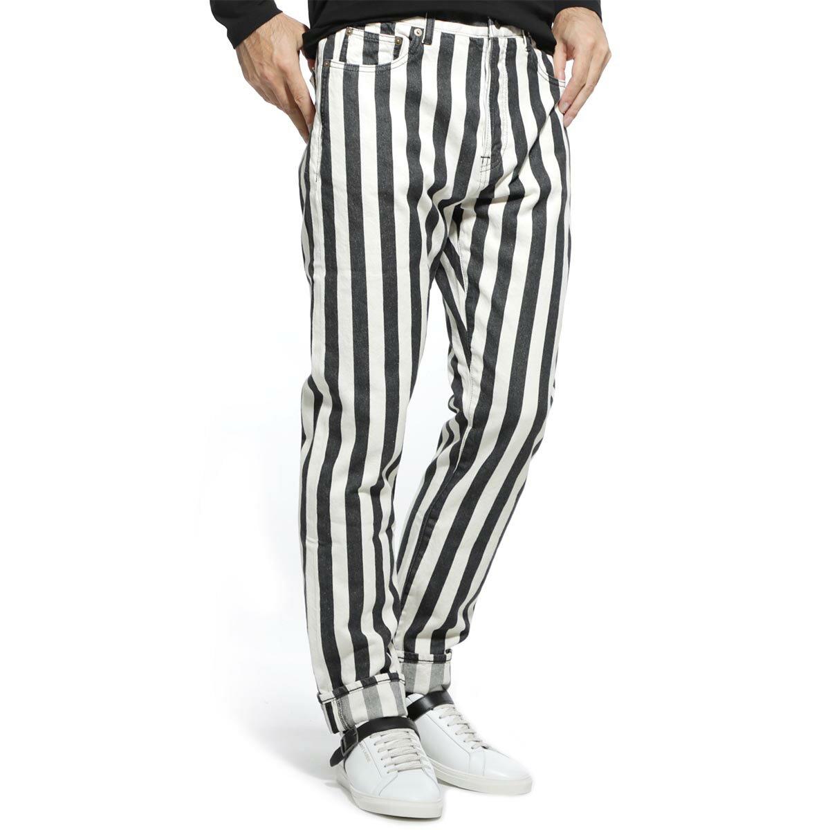 メンズファッション, ズボン・パンツ  SAINT LAURENT PARIS 584475 y523v 1041 STRAIGHT MEDIUM RISE DENIM