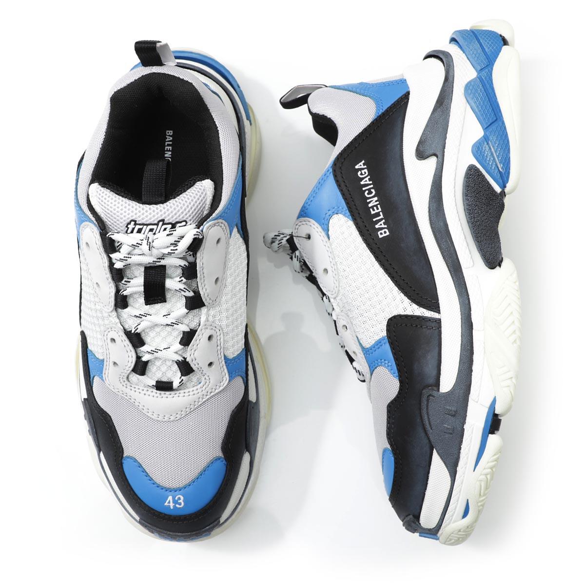 メンズ靴, スニーカー 1 BALENCIAGA 536737 w09oh 1007 TRIPLE S Soutnew