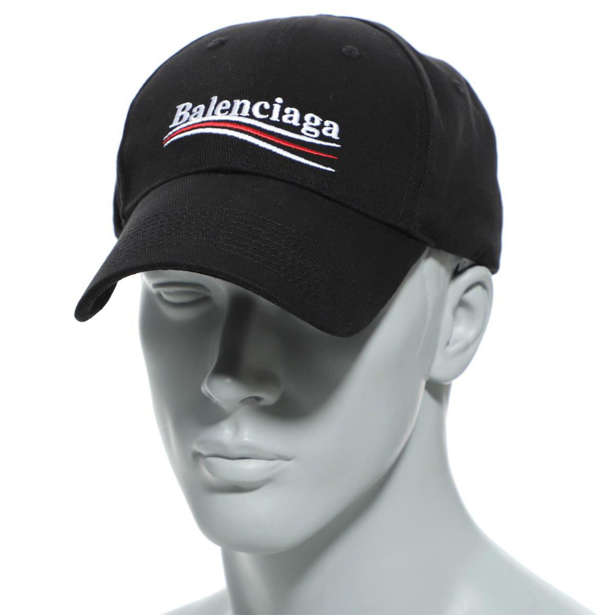 メンズ帽子, キャップ  BALENCIAGA 561018 410b2 1077 HAT POLITICAL BASEBALL CAP