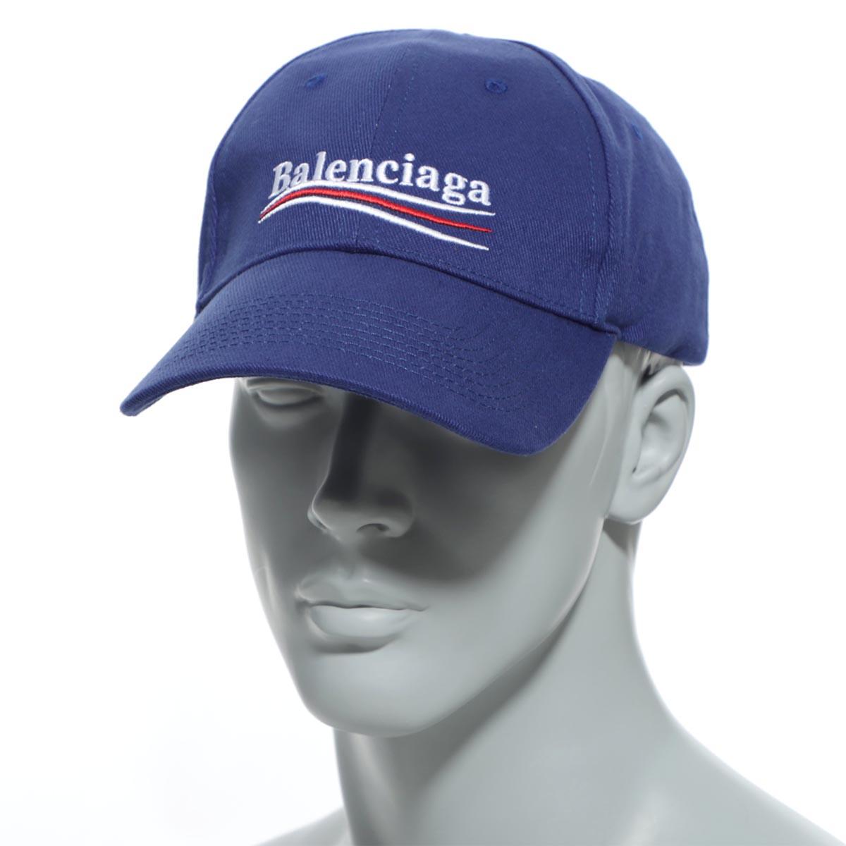 メンズ帽子, キャップ  BALENCIAGA 561018 410b2 4277 HAT POLITICAL BASEBALL CAP