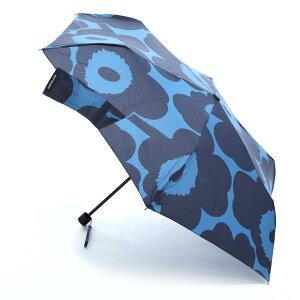 マリメッコ marimekko 折りたたみ傘 ブルー レディース 048204 550 MANUAL UNIKKO【あす楽対応_関東】【返品送料無料】【ラッピング無料】