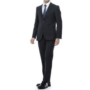 ヒューゴボス HUGO HUGOBOSS 2つボタンスーツ ブラック メンズ セットアップ ジャケット スラックス フォーマル ビジネス パーティ 大きいサイズあり JEFFRY/SIMMONS 182 REGULAR FIT レギュラーフィット【あす楽対応_関東】【返品送料無料】