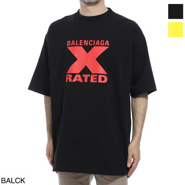 バレンシアガ BALENCIAGA クルーネックTシャツ メンズ 620969 tiva7 1076 X-RATED LARGE FIT T-SHIRT【あす楽対応_関東】【返品送料無料】【ラッピング無料】