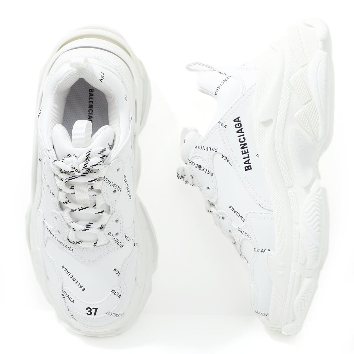 レディース靴, スニーカー  BALENCIAGA 524039 w2fa1 9010 TRIPLE S SNEAKER