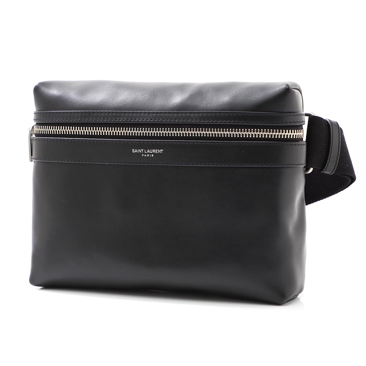 メンズバッグ, ボディバッグ・ウエストポーチ  SAINT LAURENT PARIS 634717 0ay9f 1000 CITY CAMERA BAG IN MATTE LEATHER