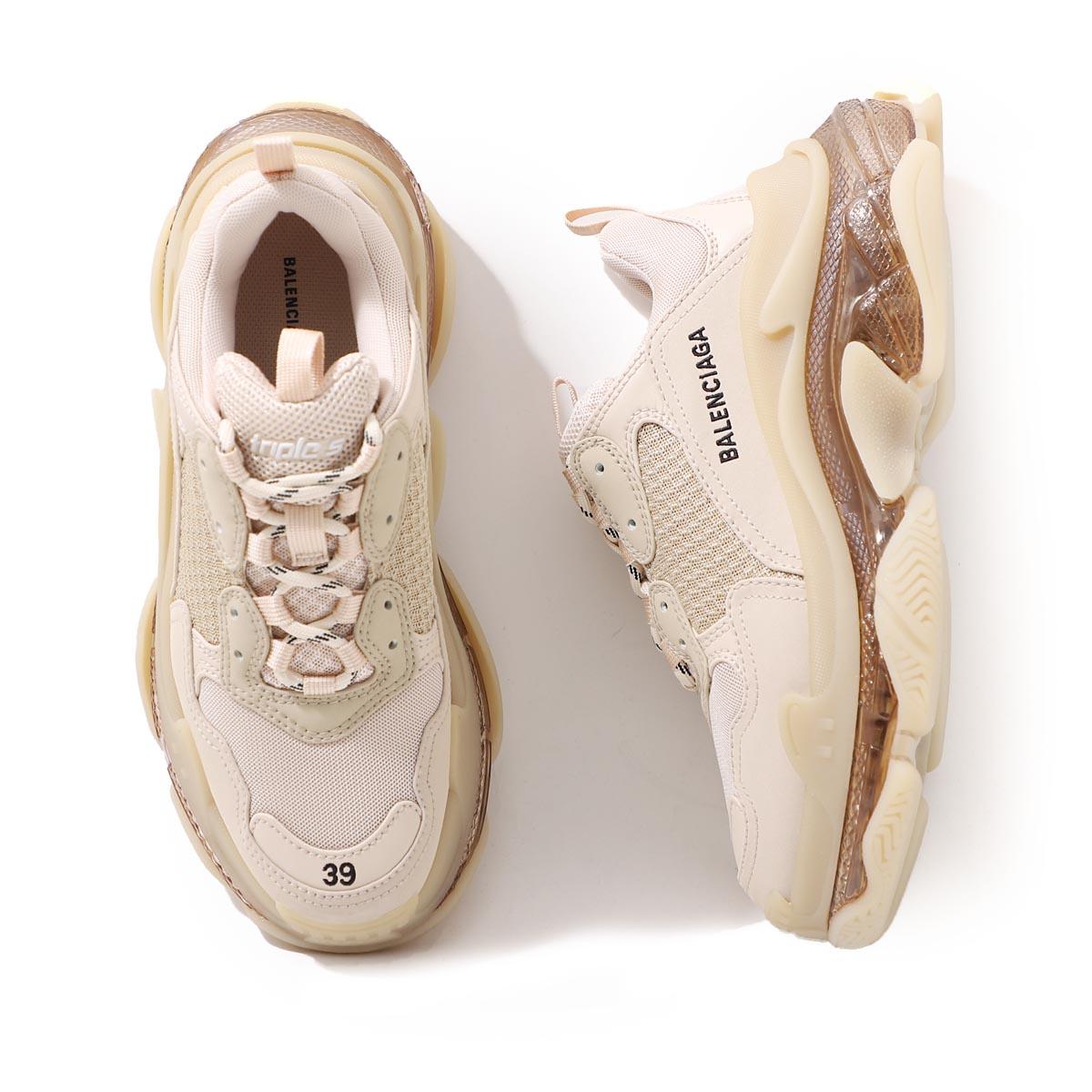 レディース靴, スニーカー  BALENCIAGA 544351 w2ga1 9710 TRIPLE S S