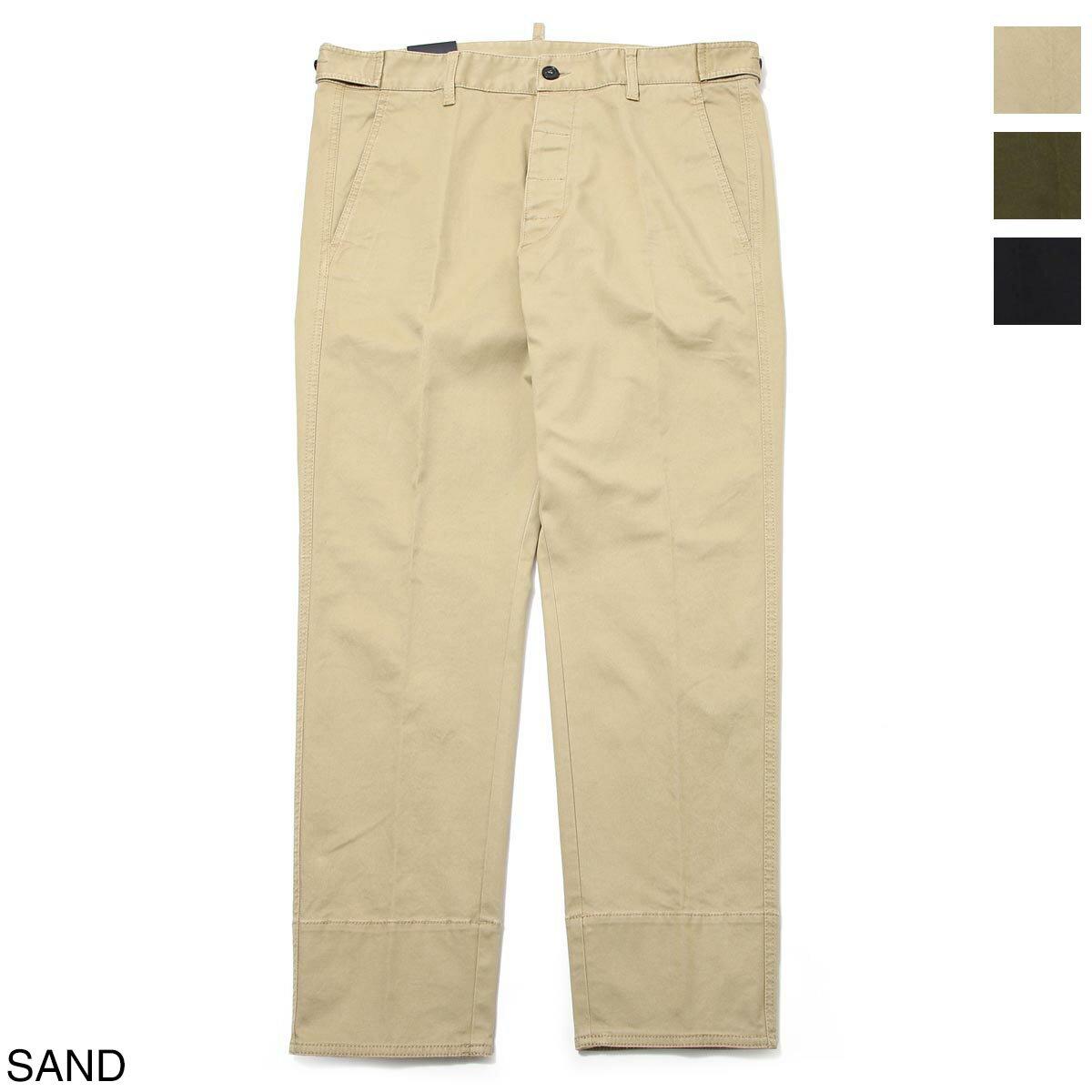メンズファッション, ズボン・パンツ  DSQUARED2 s74kb0462 s39021 123 COTTON TWILL HOCKNEY PANTS