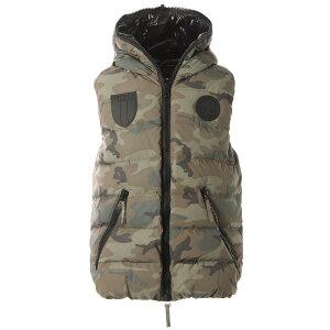 ハイドロゲン HYDROGEN ダウンベスト ジレ グリーン メンズ 275303 060 camouflage DOWN VEST CAMO HYDROGEN BY DUVETICA【あす楽対応_関東】【返品送料無料】【ラッピング無料】