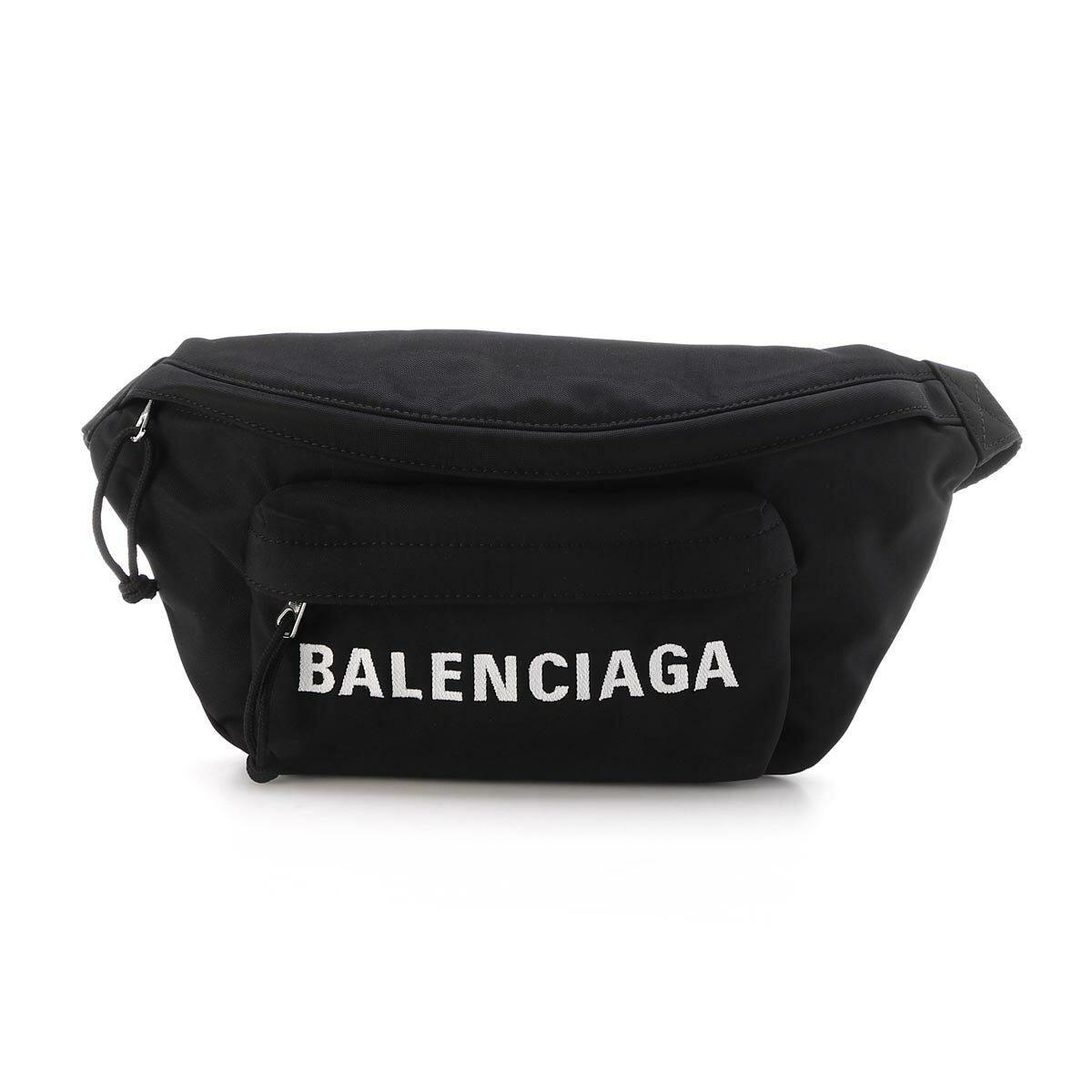 メンズバッグ, ボディバッグ・ウエストポーチ  BALENCIAGA 533009 h851n 1000 WHEEL BELTPACK