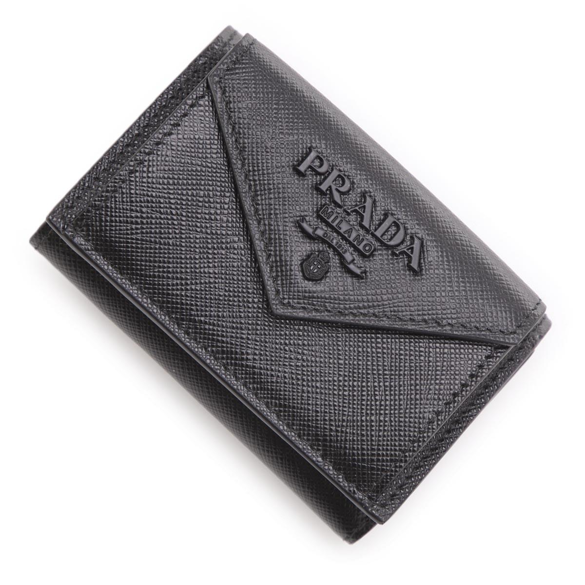 財布・ケース, レディース財布  PRADA 3 1mh021 2ebw f0002 SAFFIANO SHINE2021SS