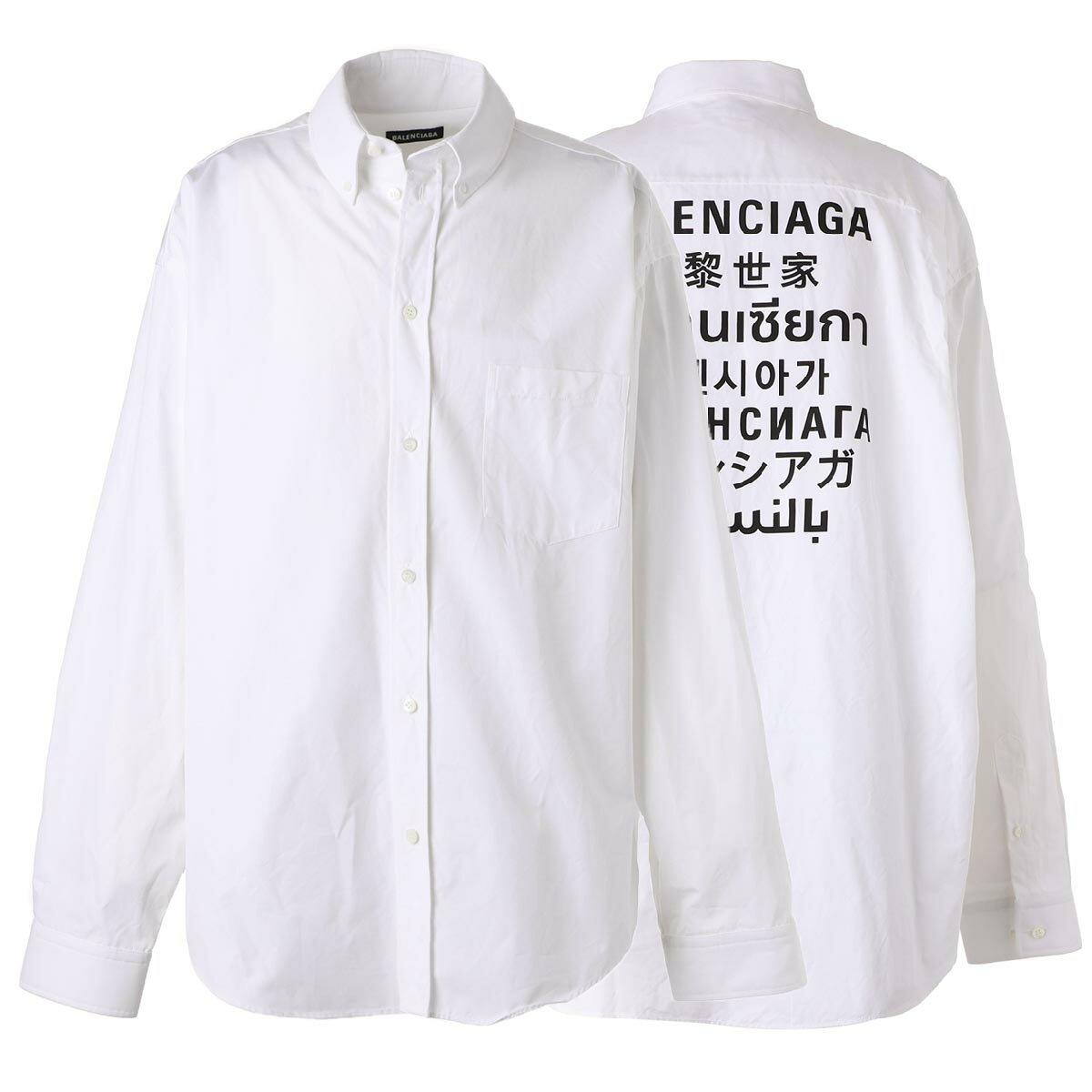 トップス, カジュアルシャツ  BALENCIAGA 647357 tyb18 9000outnew