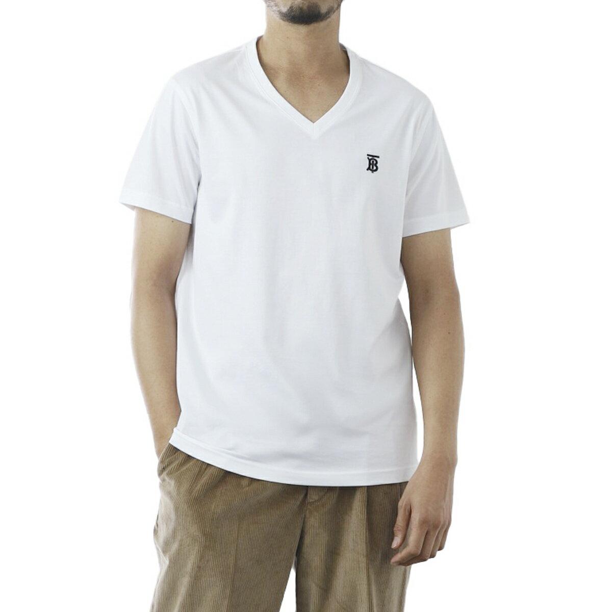 トップス, Tシャツ・カットソー  BURBERRY V T 8017258 white MARLET