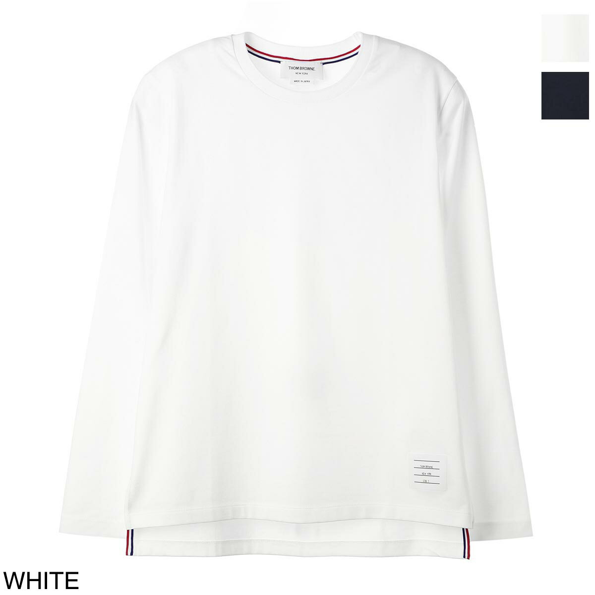 トップス, Tシャツ・カットソー  THOM BROWNE. T mjs068a 00042 415 RELAXED FIT