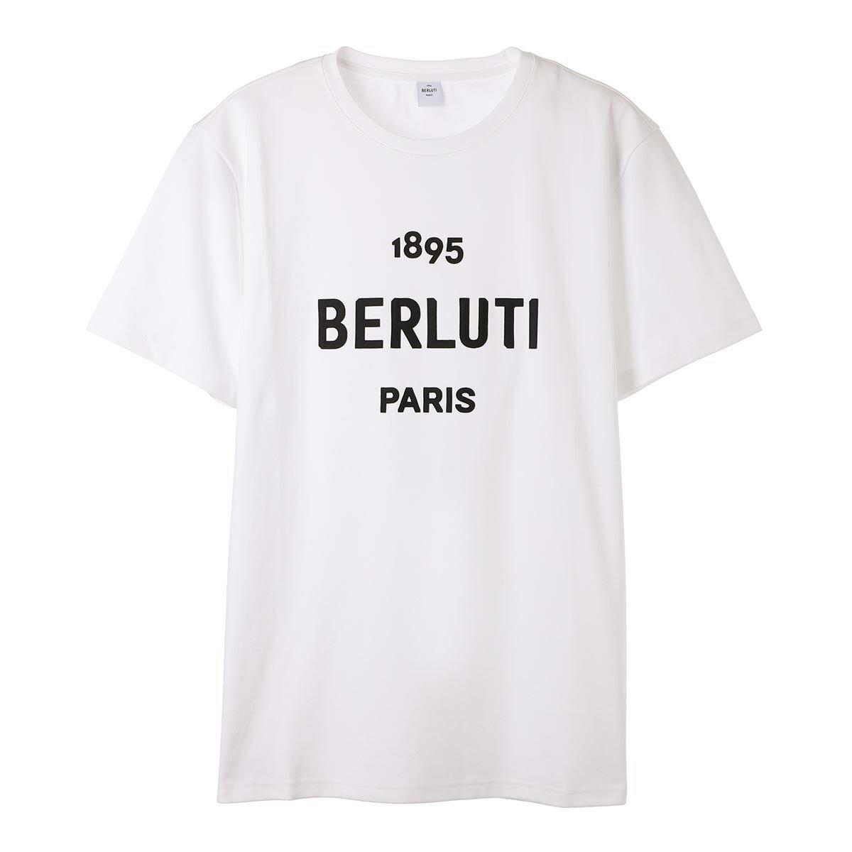 トップス, Tシャツ・カットソー 1 BERLUTI T r18jrs50 003 000 T-SHIRT W EMBROIDERED LOGO