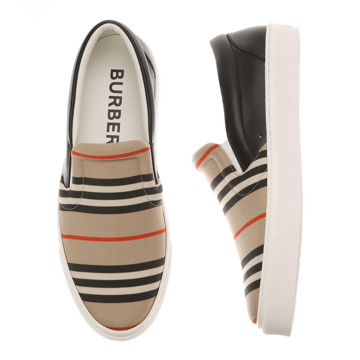 メンズ靴, スリッポン 1 BURBERRY 8037276 archivebeige