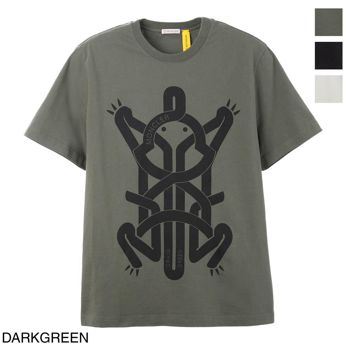 トップス, Tシャツ・カットソー  MONCLER T 8c00002 809e3 889 MONCLER GENIUS 5 MONCLER CRAIG GREEN2021SS